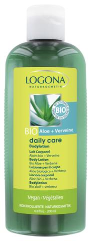 LOGONA Daily Care Лосьон для тела с Био-Алоэ и Вербеной