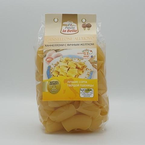 Каннеллони с яичным желтком PASTA LA BELLA BADY ГУРМАЙОР, 250 гр