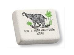 Ластик со слоном ELEPHANT 300/80 8х26х19мм, цветной