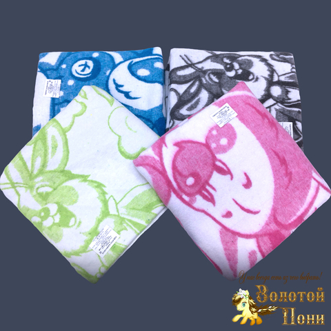 Одеяло байковое детское (100х140) 210923-А6033