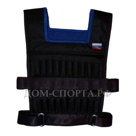 Жилет-утяжелитель «Мастер» 10 кг размер 48-52 1 шт.