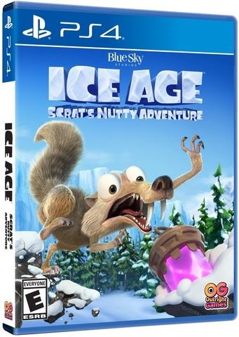 Ледниковый период: Сумасшедшее приключение Скрэта (PS4, русские субтитры)