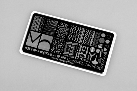 Пластина Swanky Stamping №055