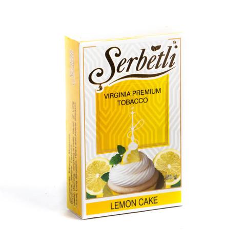 Табак Serbetli Lemon Cake (Лимонный Пирог) 50 г