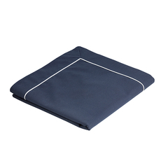TABLECLOTH 115×100 BLUE NAVY, WATERPROOF