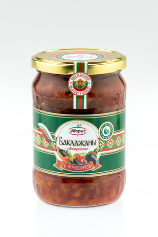 Баклажаны обжаренные с черносливом, 530 гр.