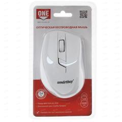 Мышь беспроводная ONE SBM-602AG-W белый Smartbuy