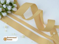 Лента репсовая сырой шелк ширина от 6 до 22 мм