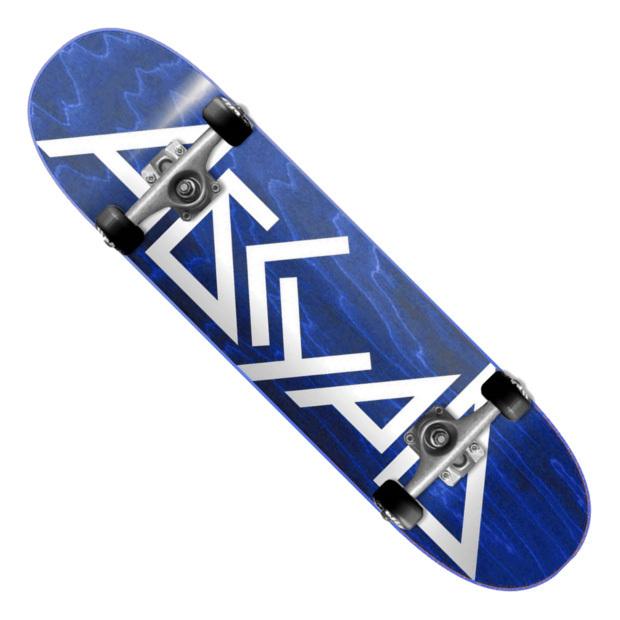 Скейтборд АБСУРД Logo (Blue)