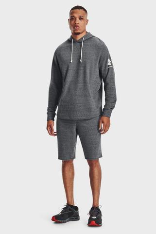 Мужские серые шорты UA RIVAL TERRY SHORT Under Armour