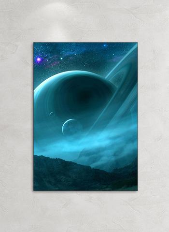 Картина на стекле Тайны вселенной 2, 28х40 см