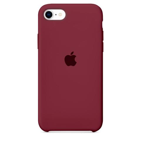 Чехол iPhone 8/7 Silicone Case copy /plum/
