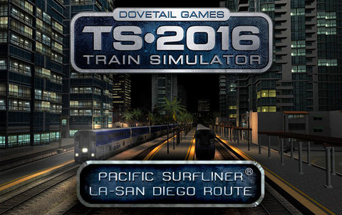 Train Simulator: Pacific Surfliner® LA - San Diego Route (для ПК, цифровой ключ)