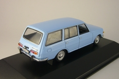 Wartburg 353 Kombi (old grill) light blue 1972 IST038 IST Models 1:43