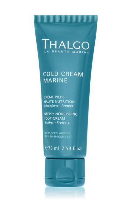 Thalgo Cold Marine Восстанавливающий Насыщенный Крем для ног DEEPLY NOURISHING FOOT CREAM