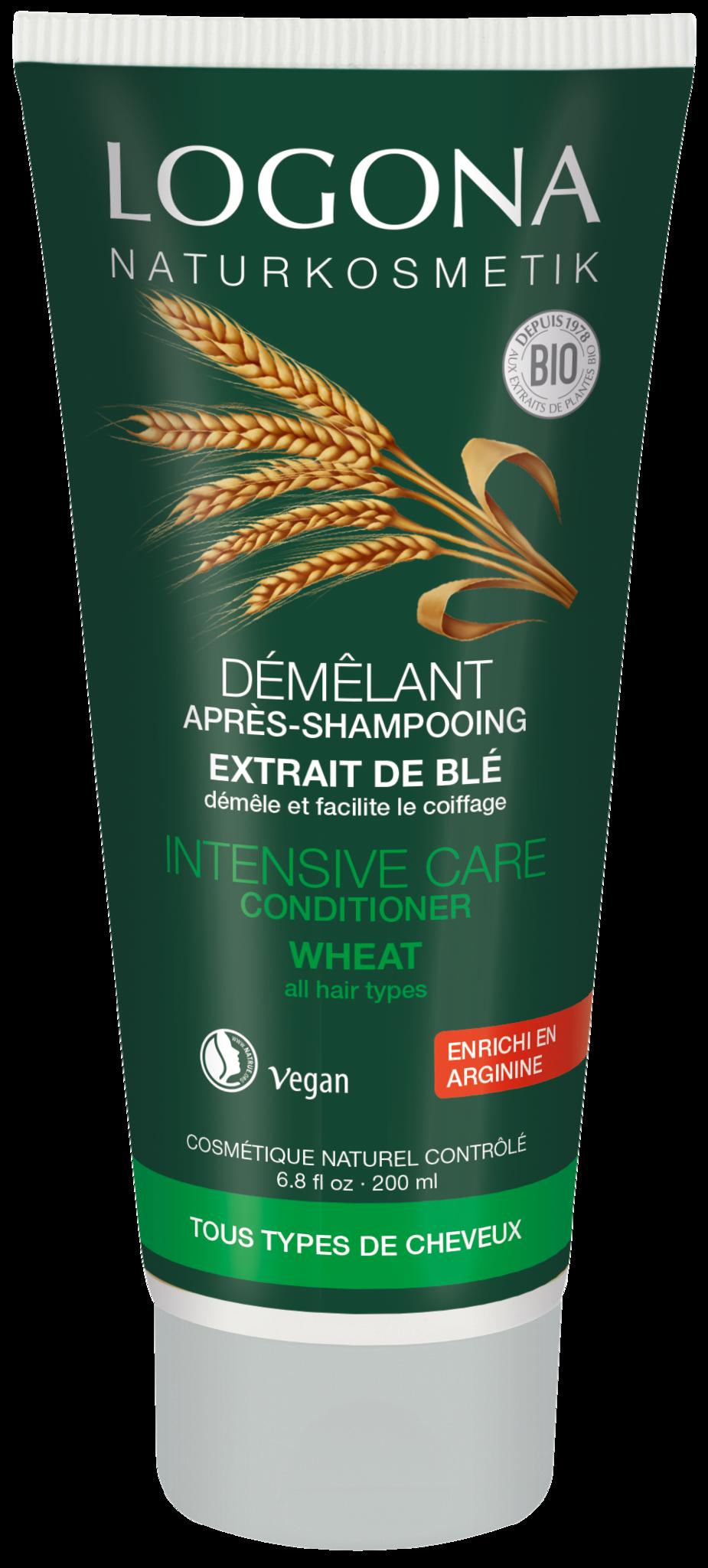LOGONA Кондиционер для волос с протеинами Пшеницы