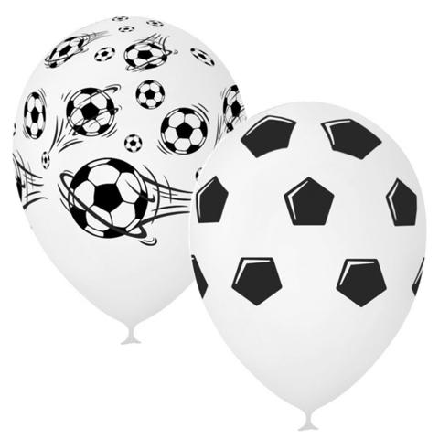 Воздушный шар футбол с гелием.