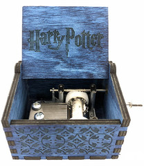 Music Box Harry Potter (Blue)