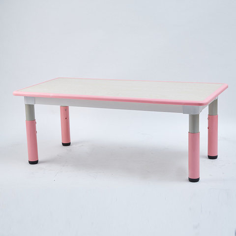 Пластиковый регулируемый прямоугольный стол 120х60