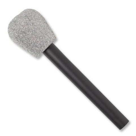 Микрофон пластик блеск
