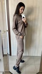 Ісіда. Прогулянковий спортивний костюм з ангори. Мокко