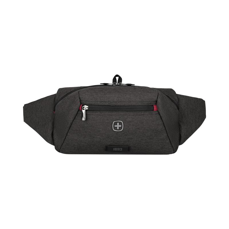 Сумка WENGER MX Crossbody Bag для ношения через плечо или на поясе, цвет тёмно-серый, 30х15х10 см., 3 л. (611644) | Wenger-Victorinox.Ru