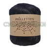 Wool Sea Paillettes 02 (чёрный)