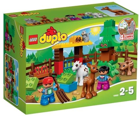 LEGO Duplo: Лесные животные 10582 — Forest animals — Лего Дупло