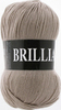 Пряжа Vita Brilliant 4966   (Холодный бежевый)