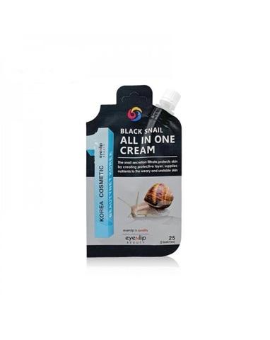 Eyenlip Крем для лица с экстрактом черной улитки Black Snail All In One Cream, 20 гр