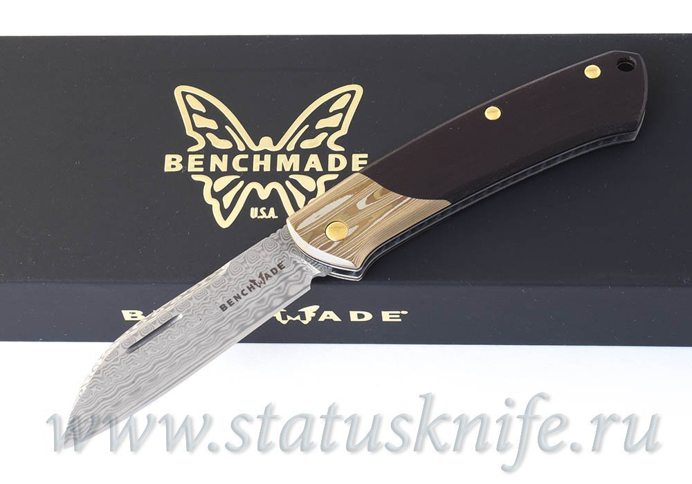 Нож Benchmade 319-201 Proper Damasteel - фотография