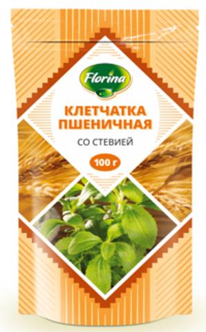 Клетчатка Флорина Пшеничная со Стевией 100г