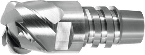 Фрезерная головка с тороидальным торцом с внутренним охлаждением HB730