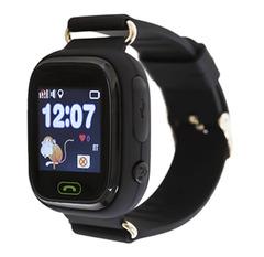 Детские часы Smart Baby Watch Q80 (Q90, GW 100) с GPS-трекером черные