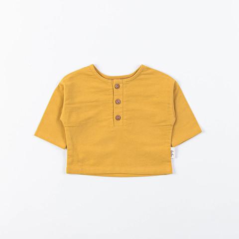 Flannel shirt 0+, Mustard