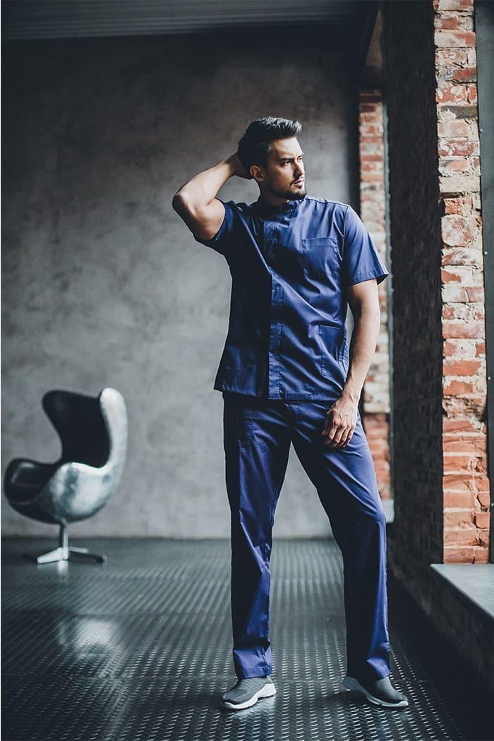 Блузы мужские медицинские М 48