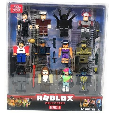 Классический набор Роблокс из 12 фигурок. Серия 3