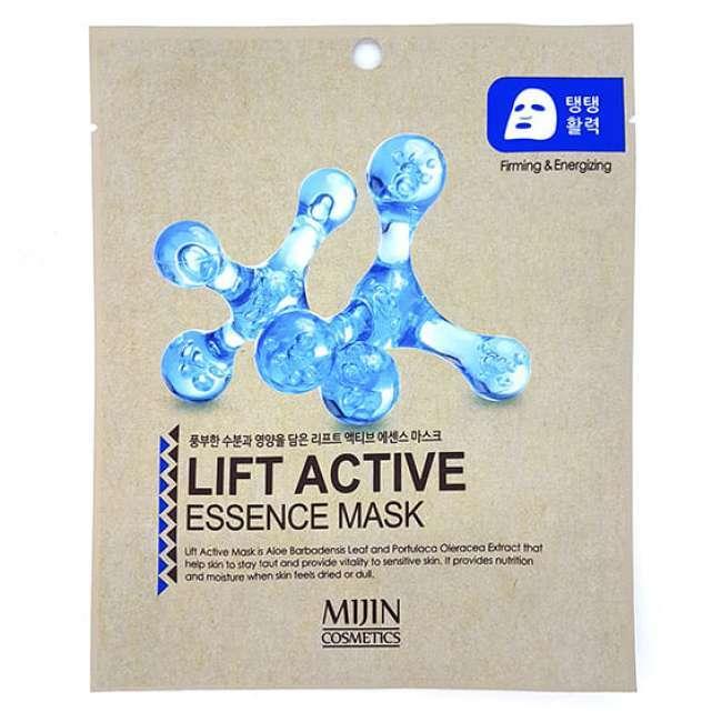 Увлажняющие Маска тканевая для лица  лифтинг эффект MIJIN LIFT ACTIVE ESSENCE MASK 25гр 31712.jpg