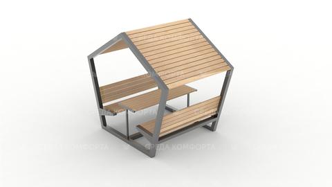 Скамейка с навесом SCAM0095