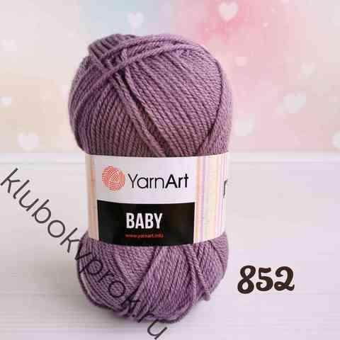 YARNART BABY 852, Сухая роза