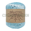 Wool Sea Paillettes 023 (светлая бирюза)
