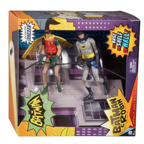 Batman Classic 1966 TV Figure Box Set - Batman & Robin