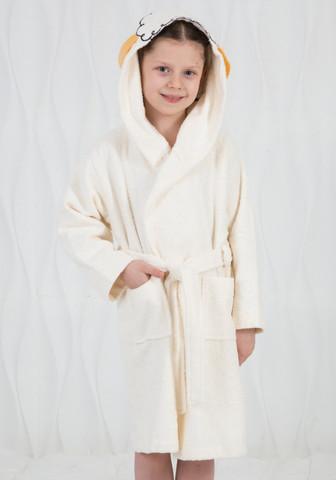 Детский халат с ушками на макушке