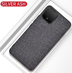 Тканевый чехол для Google Pixel 4 (Серый)