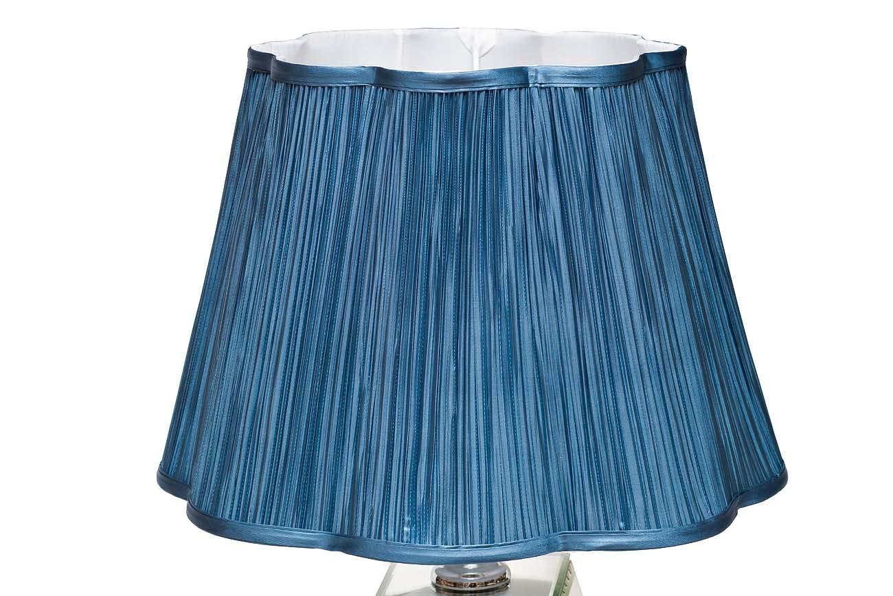 KFE001 Лампа настольная с зерк.вставками 380*380*610мм плаф.сер