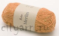 цвет 006 / светло-оранжевый с ярко-зелёными и молочными вкраплениями