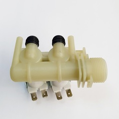 Клапан заливной 2Wx90 (клеммы раздельно) Ariston, Indesit и др. 066518