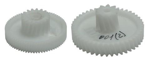 Комплект шестеренок мясорубки Cameron, Philips, Vitek, Zelmer, Умелица