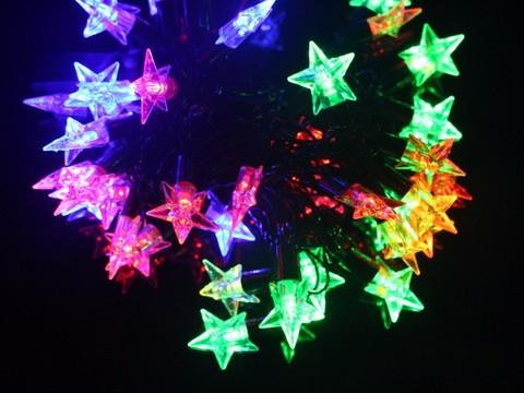 Гирлянда звезда светодиодная декоративная
