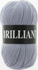 Пряжа Vita Brilliant 4963   (Жемчужно-серый)